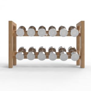 Horizontal Dumbbell Rack