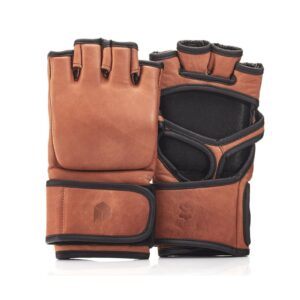 Deluxe Leather MMA Gloves